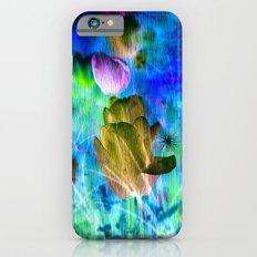 Blue Ocean of Tulips Slim Case iPhone 6s