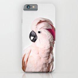 Pink Cockatoo iPhone Case