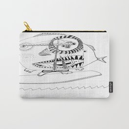Surf´s up! Sharksurfing Carry-All Pouch