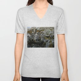 Coastal Rock Microcosms Unisex V-Neck