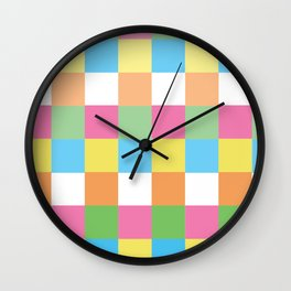 color touch Wall Clock