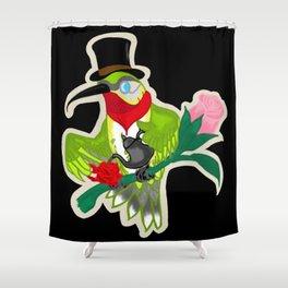 Hummingbird Sir Shower Curtain