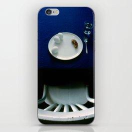 Breakfast in Blue iPhone Skin