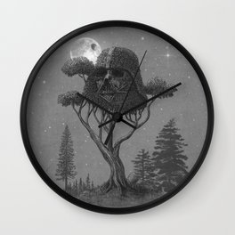 Dark Side of The Forest  Wall Clock