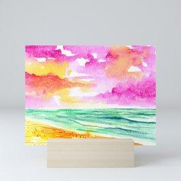 Lively Seascape I Mini Art Print