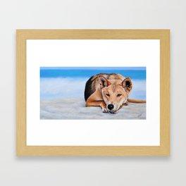 My Island Home Framed Art Print