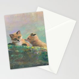 Red Fox Kits First Outing Stationery Cards
