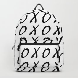 X O PATTERN Backpack