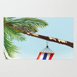 puerto rico hammock beach poster Rug