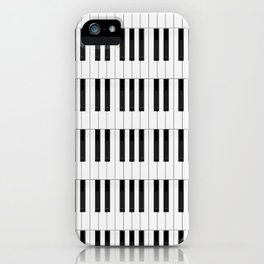 Piano / Keyboard Keys iPhone Case