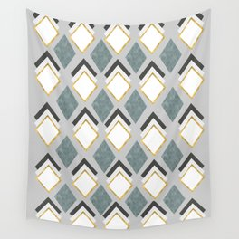pattern of geometric figures Wall Tapestry