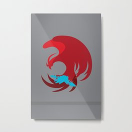 Ace Combat - Phoenix  Metal Print