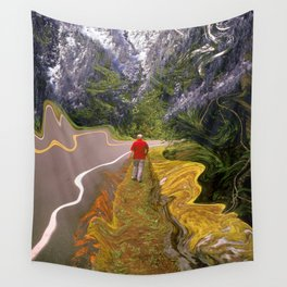 Mountain Walk Wall Tapestry