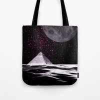 ufo Tote Bags featuring ufo by sustici