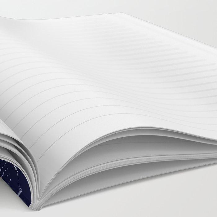 Constellation Map Indigo Notebook