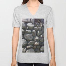 Wall of Stone Unisex V-Neck