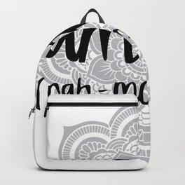 Namasté (mandala) Backpack