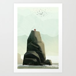 One Of The Flock Art Print