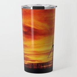 Burning Sky Travel Mug