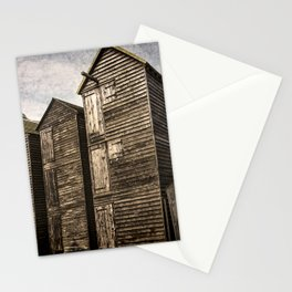 Fishermens Huts at Hastings Stationery Cards