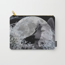 Winter Snow Wolf A830 Carry-All Pouch