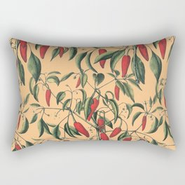red wild fruits Rectangular Pillow