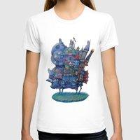 fandom T-shirts featuring Fandom Moving Castle by nokeek