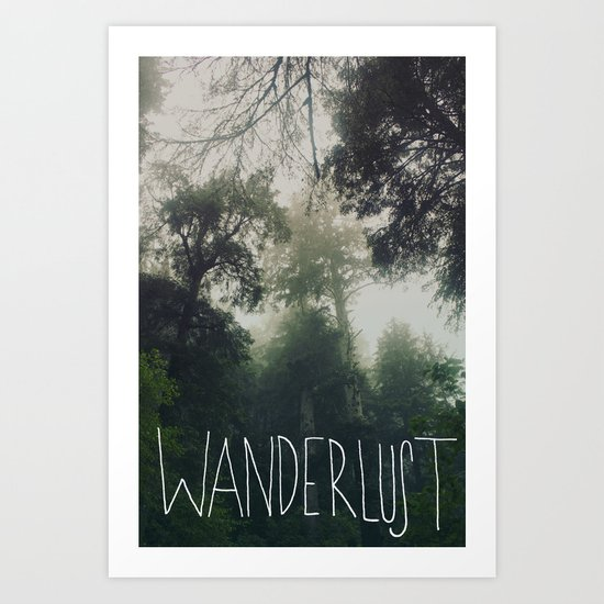 Wanderlust: Oswald West, Oregon Art Print