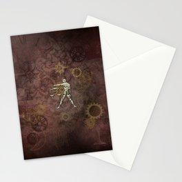 Steampunk Zodiac  Libra Stationery Cards