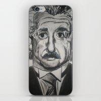 einstein iPhone & iPod Skins featuring Einstein  by jleto123