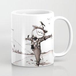 Scarecrow Fall Limerick Coffee Mug