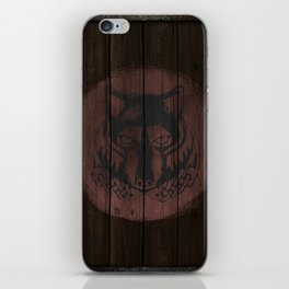 Wolf Shield iPhone Skin