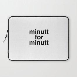 Minutt for minutt Laptop Sleeve