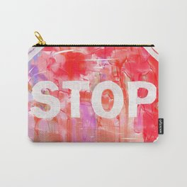 Stop Aesthetic Carry-All Pouch