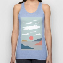 Cat Landscape 23 Unisex Tank Top