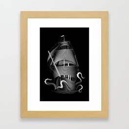 The Kraken Framed Art Print