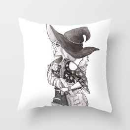 Soul Food Witch Throw Pillow