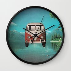 Car Ma Ged Don Too Wall Clock