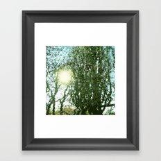 Korkenzieher Haselnuss. Framed Art Print