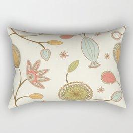 Mehndi Flower Rectangular Pillow