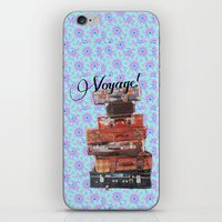 voyage iPhone & iPod Skins featuring VOYAGE! by Ylenia Pizzetti