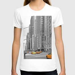 NYC - Yellow Cabs - Music T-shirt
