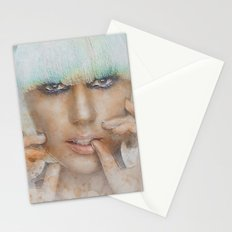 The Lady Stationery Cards