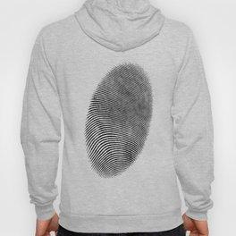 Finger print design Hoody