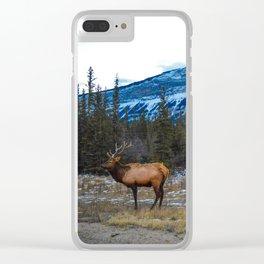 Jasper Local- Aka Mr. Male Elk/Wapiti Clear iPhone Case