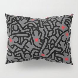 Keith Haring Variation #32 Pillow Sham