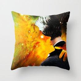 Burning Up Throw Pillow