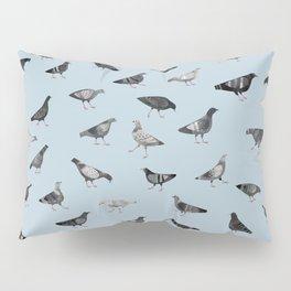 Pigeons Doing Pigeon Things Pillow Sham