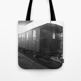 Old train wagon Tote Bag