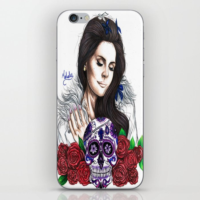 Lady Of Roses iPhone Skin